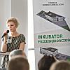 Prezentacja oferty Fundacji Rozwoju Lubelszczyzny i Inkubatora Przedsiębiorczości przez Panią Elizę Potocką-Specjalistę ds. promocji i komunikacji biznesowej