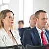 Małgorzata Petrusewicz-Członek Zarządu FRL oraz Jacek Krok-Wiceprezes Zarządu FRL