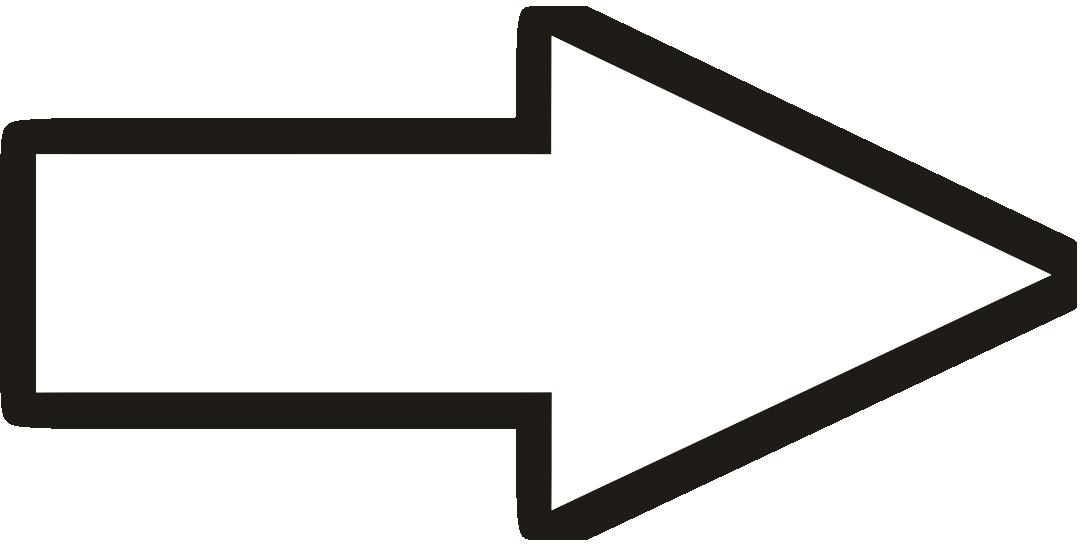 strzalka biala